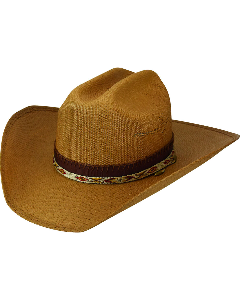 Bailey Renegade Seminole Straw Western Hat , Tan, hi-res