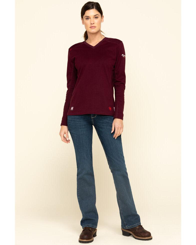 Wrangler Women's Dark Mae FR Jeans , Indigo, hi-res