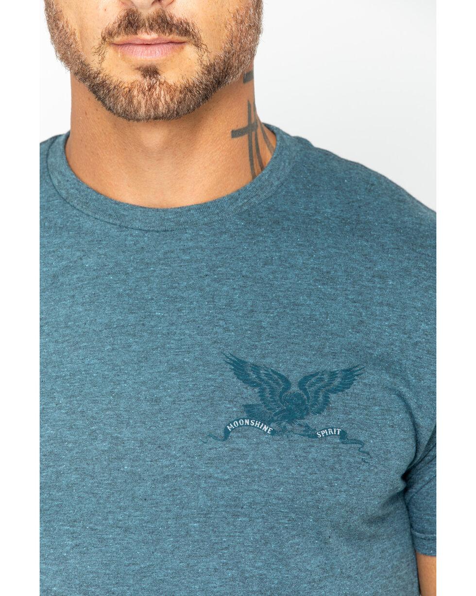 Moonshine Spirit Men's Freedom Eagle Heather T-Shirt, Navy, hi-res