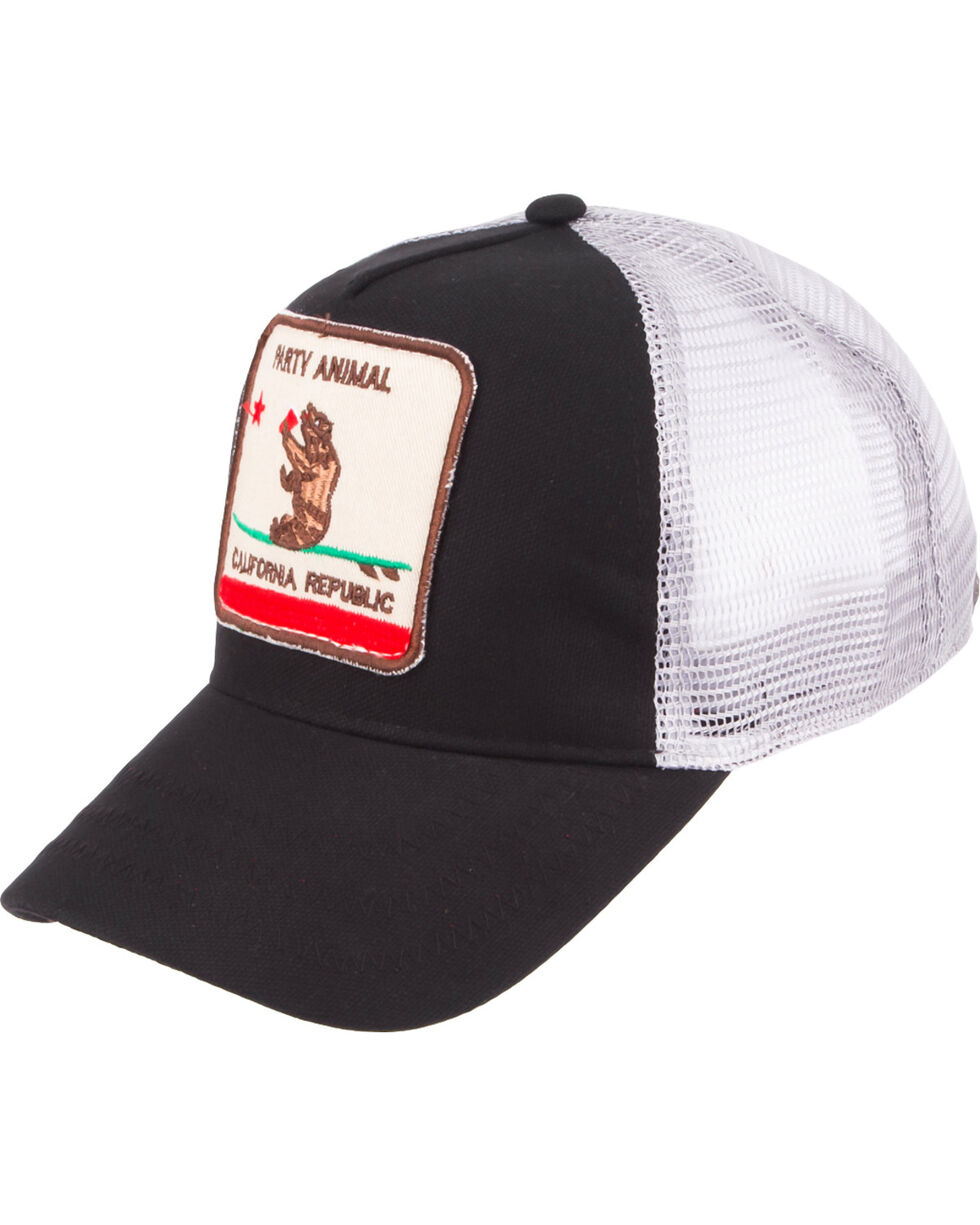 Peter Grimm California Bear Cap, Black, hi-res