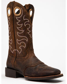Cody James Men's Brown Kodiak Western Boots - Square Toe, Brown, hi-res