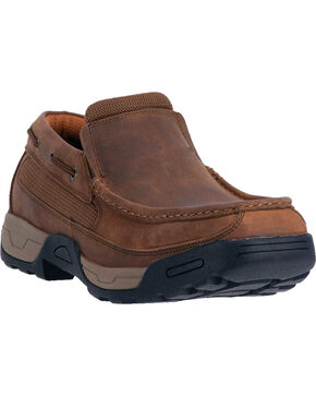 Dan Post Men's Armstrong Work Shoes, Tan, hi-res