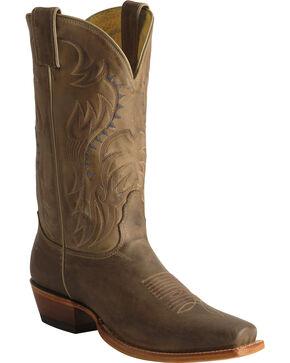 Nocona Men's Legacy Western Boots, Tan, hi-res