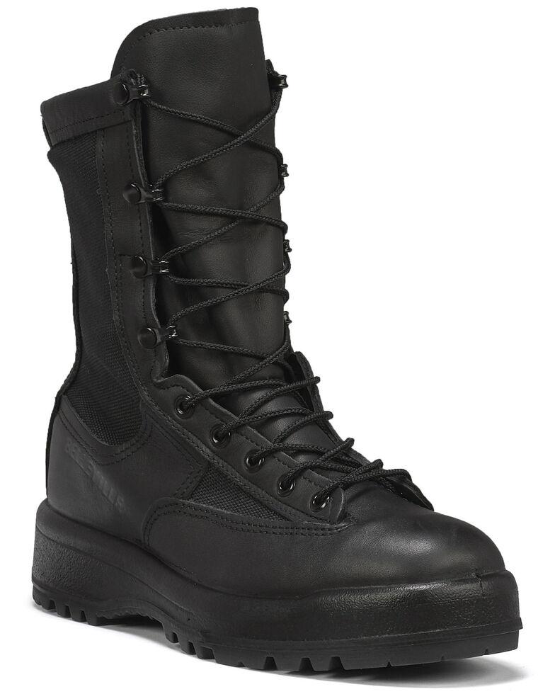 Belleveille Men's Waterproof Duty Boots, Black, hi-res