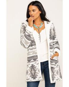 Idyllwind Women's Aztec Teddy Jacket, Natural, hi-res
