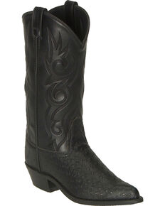 8288a50a3b3dbf Old West Fancy Stitched Ostrich Print Cowboy Boots - Pointed Toe