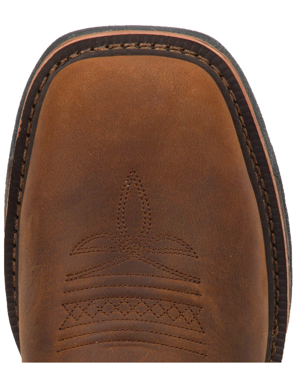 Laredo Men's Collins Western Boots - Square Toe, Tan/copper, hi-res