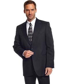 Circle S Men's Black Abilene Sport Coat - Big, Black, hi-res