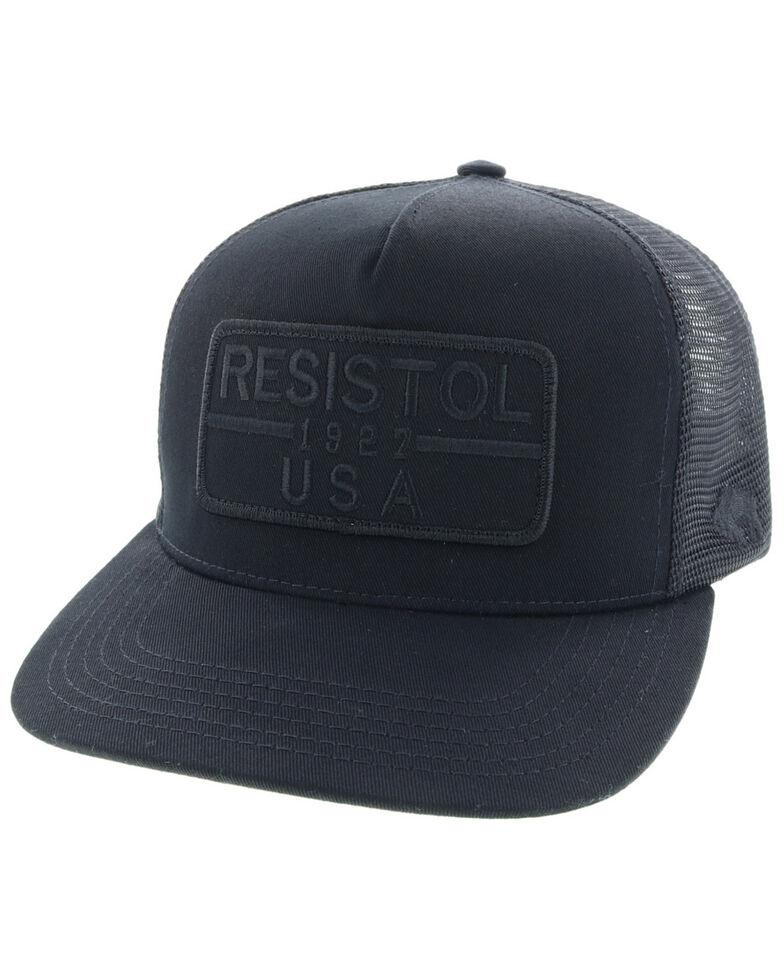 HOOey Men's Black Resistol X Ball Cap , Black, hi-res