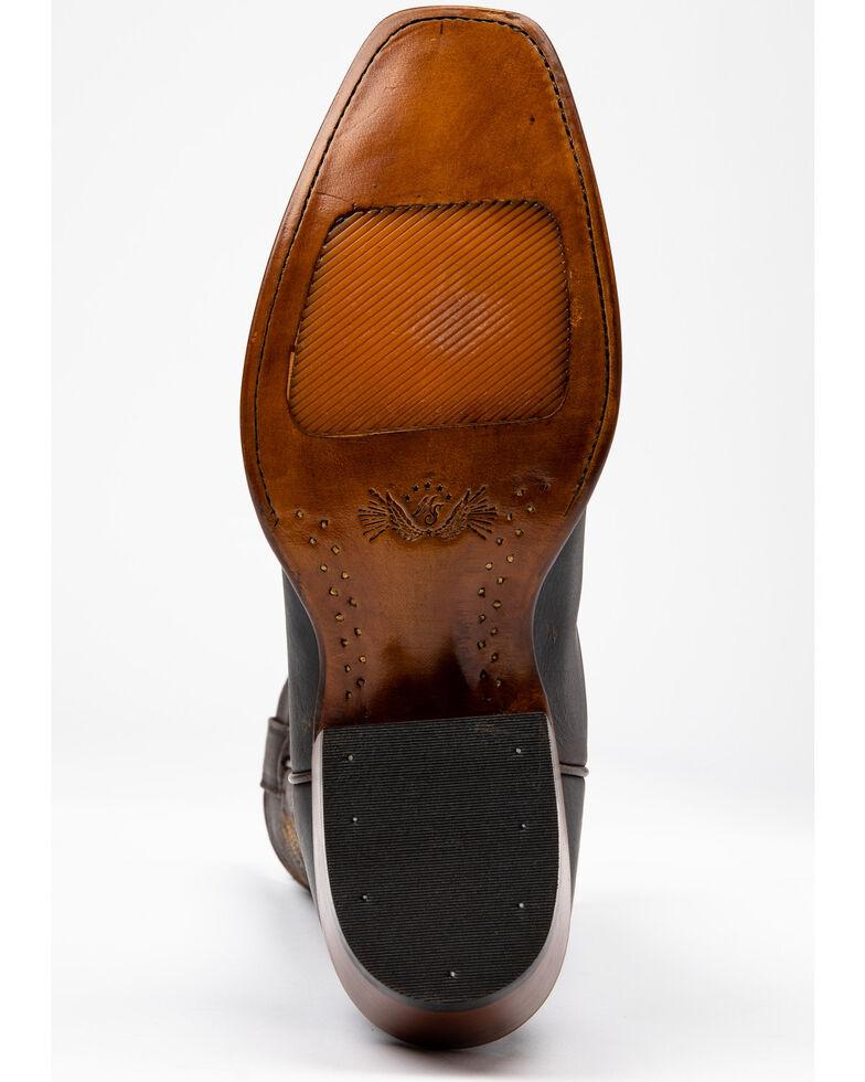 Moonshine Spirit Men's Novo Western Boots - Snip Toe, Dark Brown, hi-res