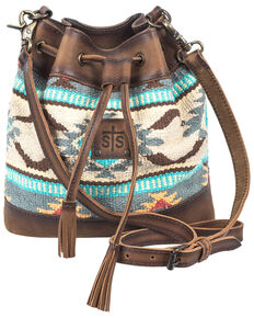 STS Ranchwear Women's Bucket Bag, Multi, hi-res