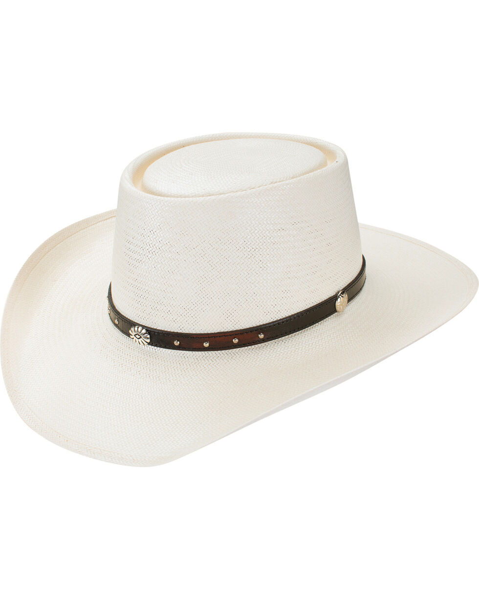 Resistol Men's Retro Collection Caprock Western Hat, Natural, hi-res