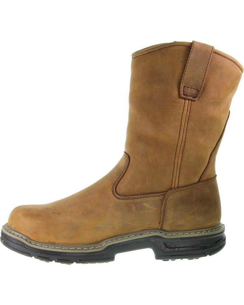 1f97b210583 Wolverine Men's Marauder Steel Toe Wellington Work Boots