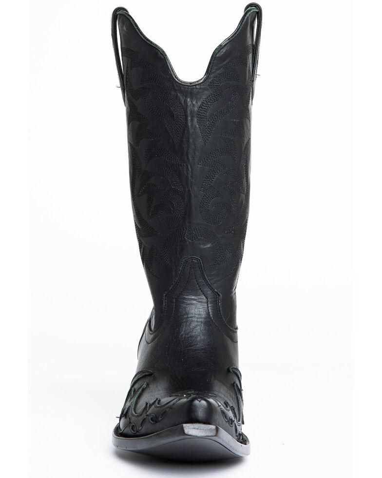 Moonshine Spirit Men's Output Western Boots - Snip Toe, Black, hi-res