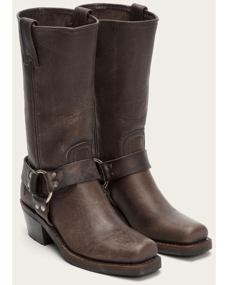 f7601a09bc0 Frye Women's Ash Harness 12R Mid-Calf Boots - Square Toe