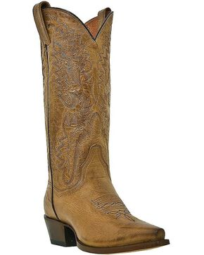 Dan Post Women's Santa Rosa Western Boots, Tan, hi-res