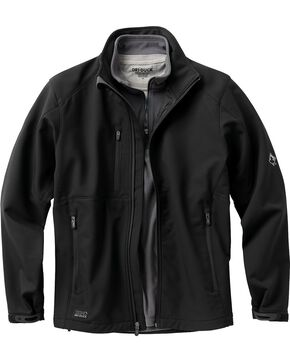 Dri Duck Men's Acceleration Waterproof Softshell Jacket, Black, hi-res
