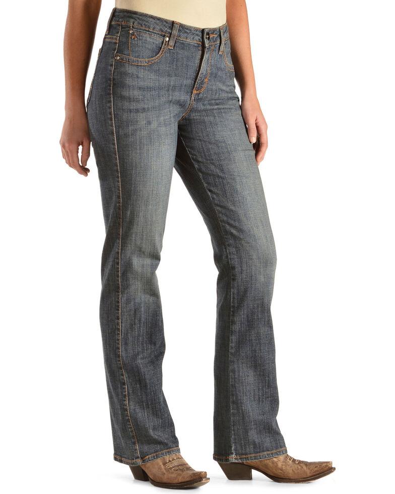 Aura by Wrangler Women's Autumn Gold Slimming Stretch Jeans, Denim, hi-res