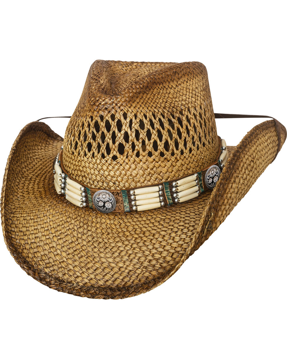 Bullhide From Dusk Till Dawn Straw Hat, Natural, hi-res