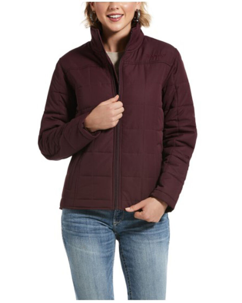 Ariat Women's Winetasting Real Crius Jacket , Purple, hi-res