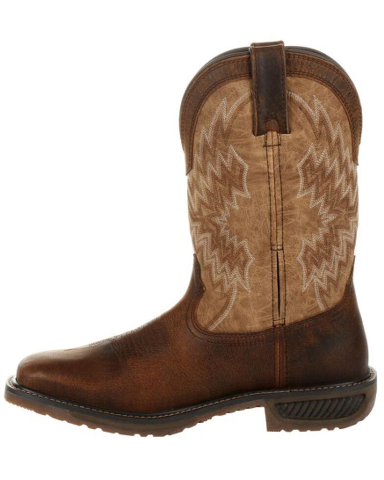Durango Men's WorkHorse Western Work Boot - Steel Toe, Brown, hi-res
