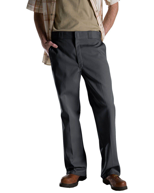 Dickies Mens Original Fit 874 Work Pant White Classic Work Uniform