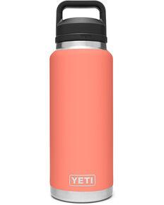 Yeti Rambler 36oz Coral Chug Bottle, Coral, hi-res