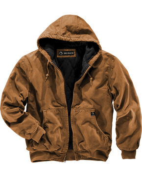 Dri Duck Men's Cheyenne Hooded Work Jacket - Big Sizes (3XL - 4XL), Tan, hi-res