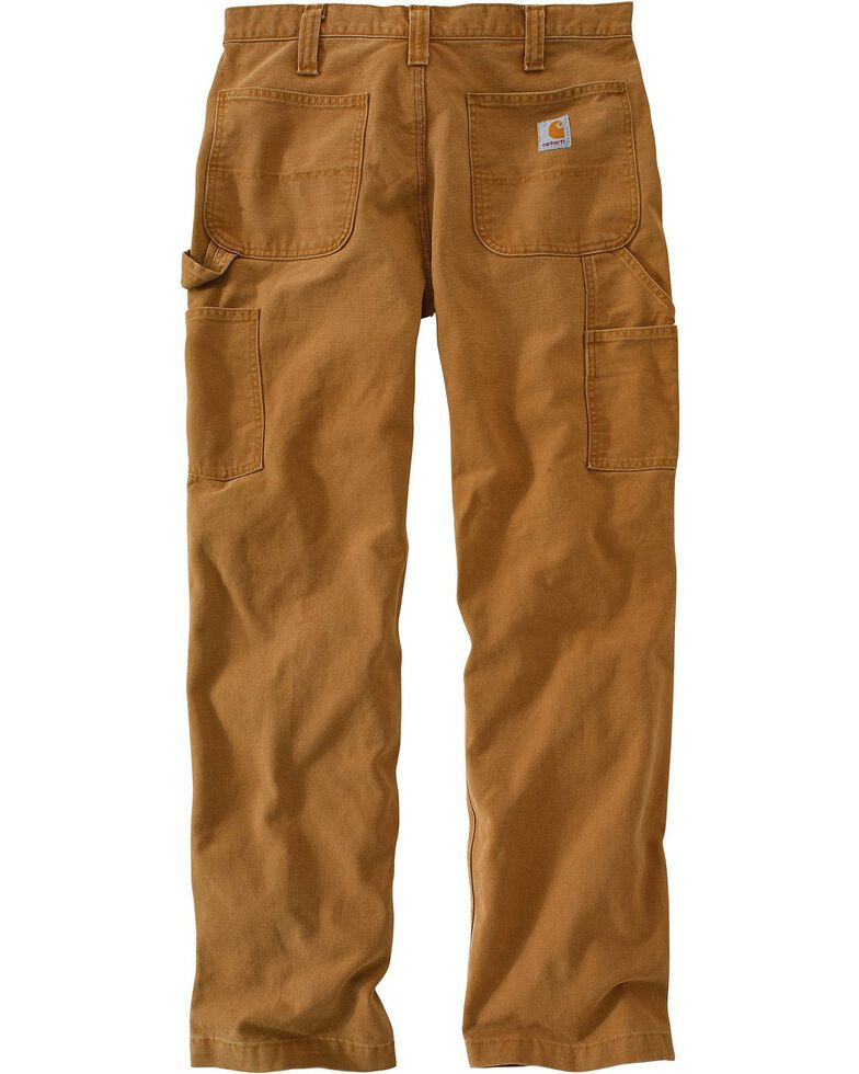 Carhartt Men's Weathered Duck Dungaree Pants | Boot Barn