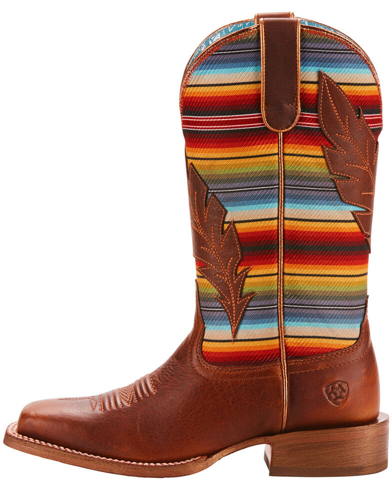 f04ff01383c Ariat Women's Circuit Feather Cowgirl Boots - Square Toe