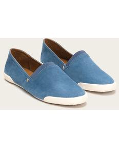 Frye Women's Blue Melanie Slip On Shoes , Blue, hi-res