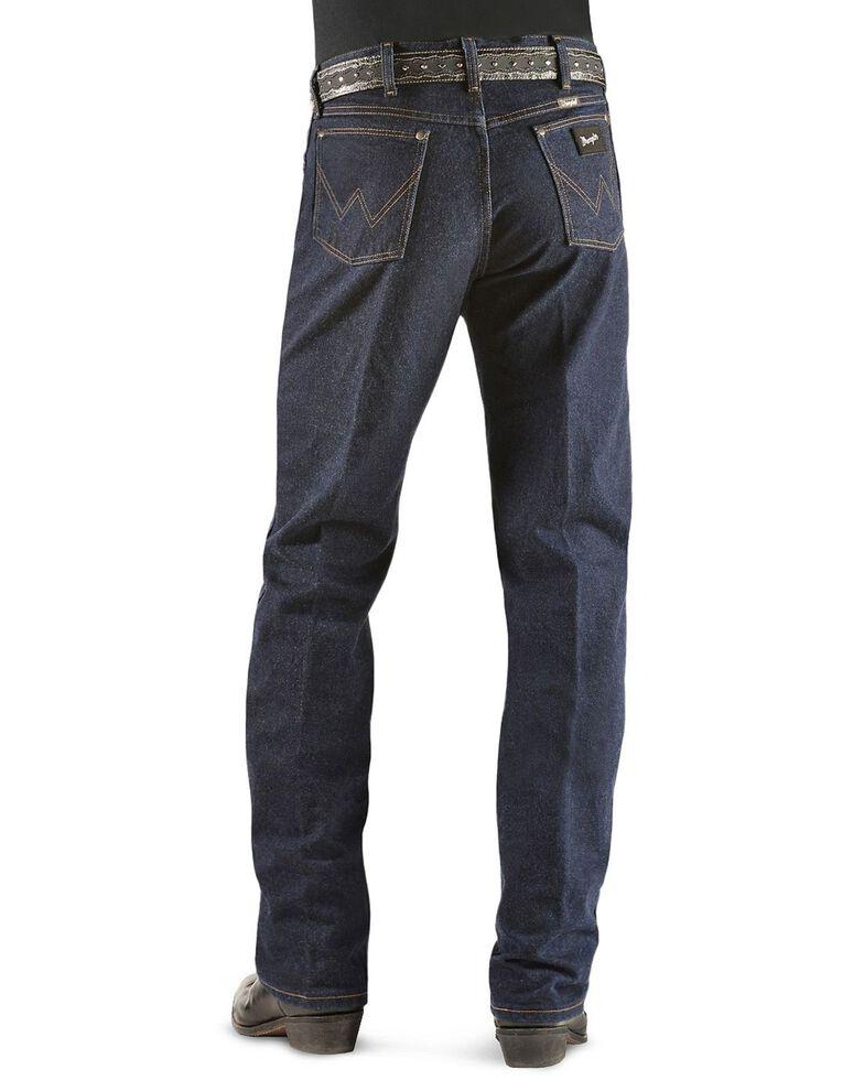 Wrangler Original Fit Men's Silver Edition Jeans, Dark Denim, hi-res