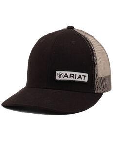 322e3e29e0b Ariat Men s Black Offset Patch Cap