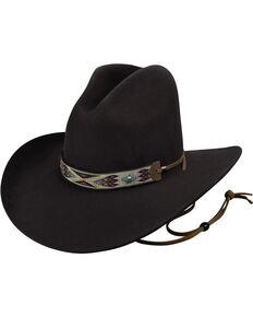 664e7e7fac0 Bailey Men s Black Hickstead Cowboy Hat