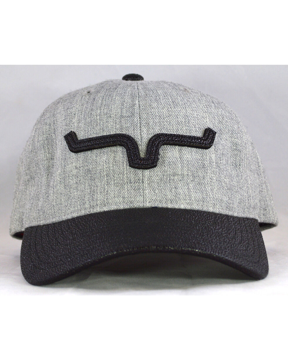 Kimes Ranch Men's Grey Faro Cap , Heather Grey, hi-res