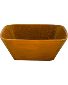 HiEnd Accents Savannah Serving Bowl, Mustard, hi-res
