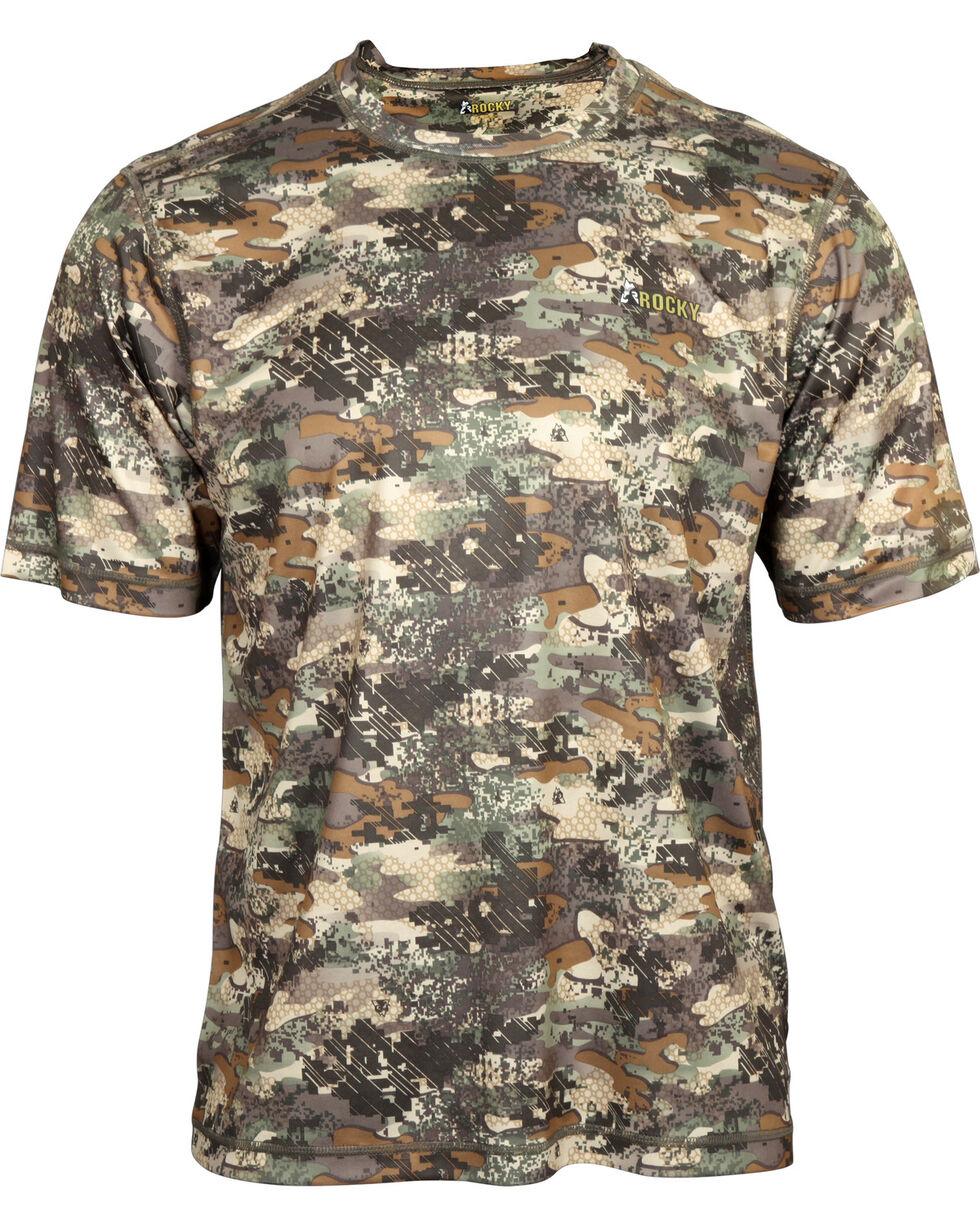 Rocky Men's Stratum Short Sleeve T-Shirt , Camouflage, hi-res