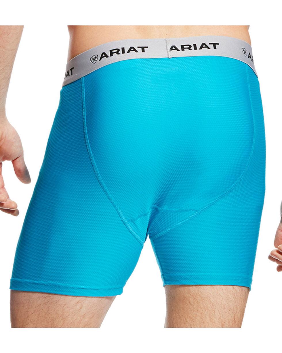 Ariat Men's Turquoise AriatTEK UnderTEK Boxer Brief, Turquoise, hi-res
