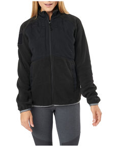 5.11 Tactical Women's Apollo Tech Fleece Jacket , Black, hi-res