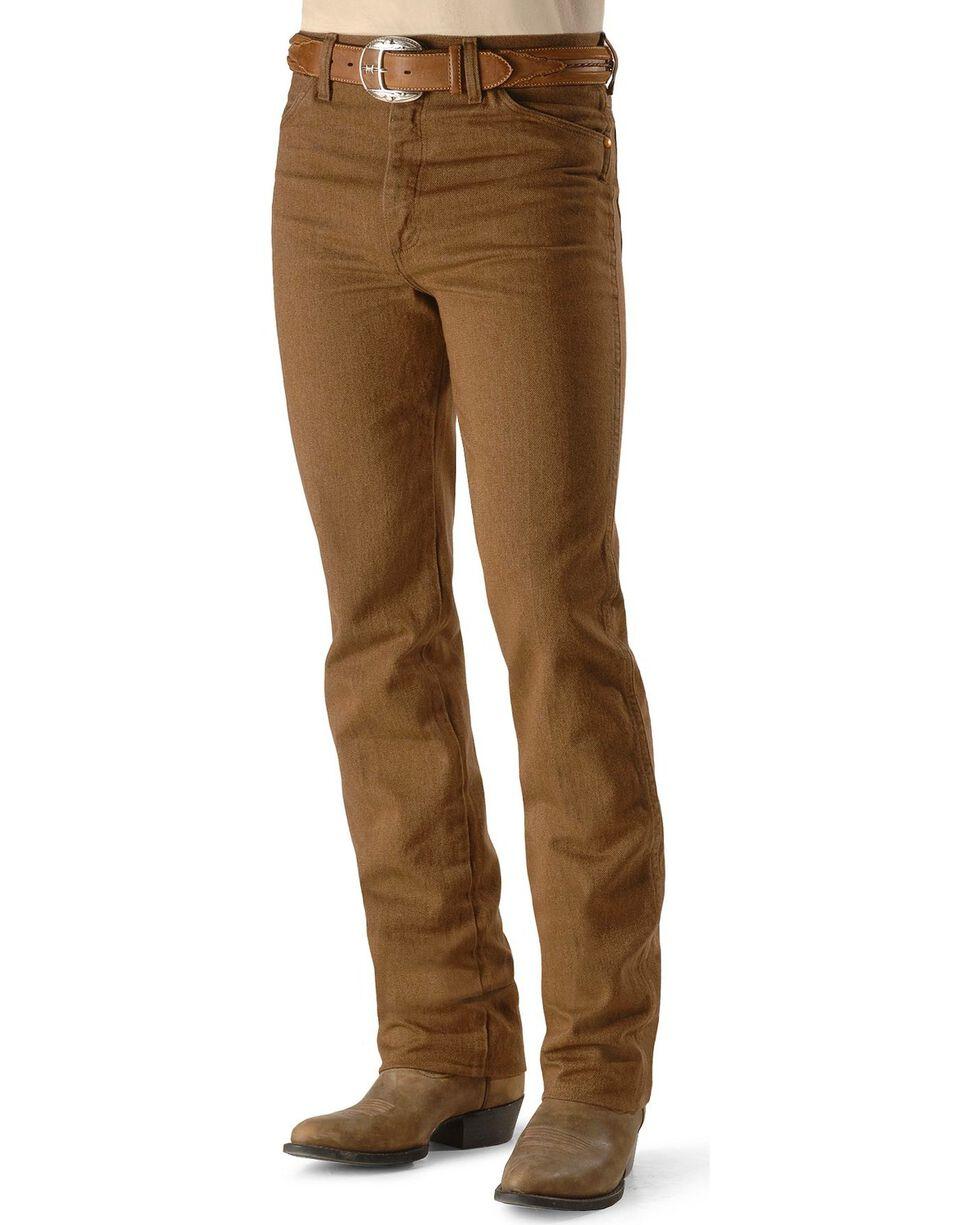 Wrangler Men's Slim Fit 936 Cowboy Cut Jeans, Whiskey, hi-res
