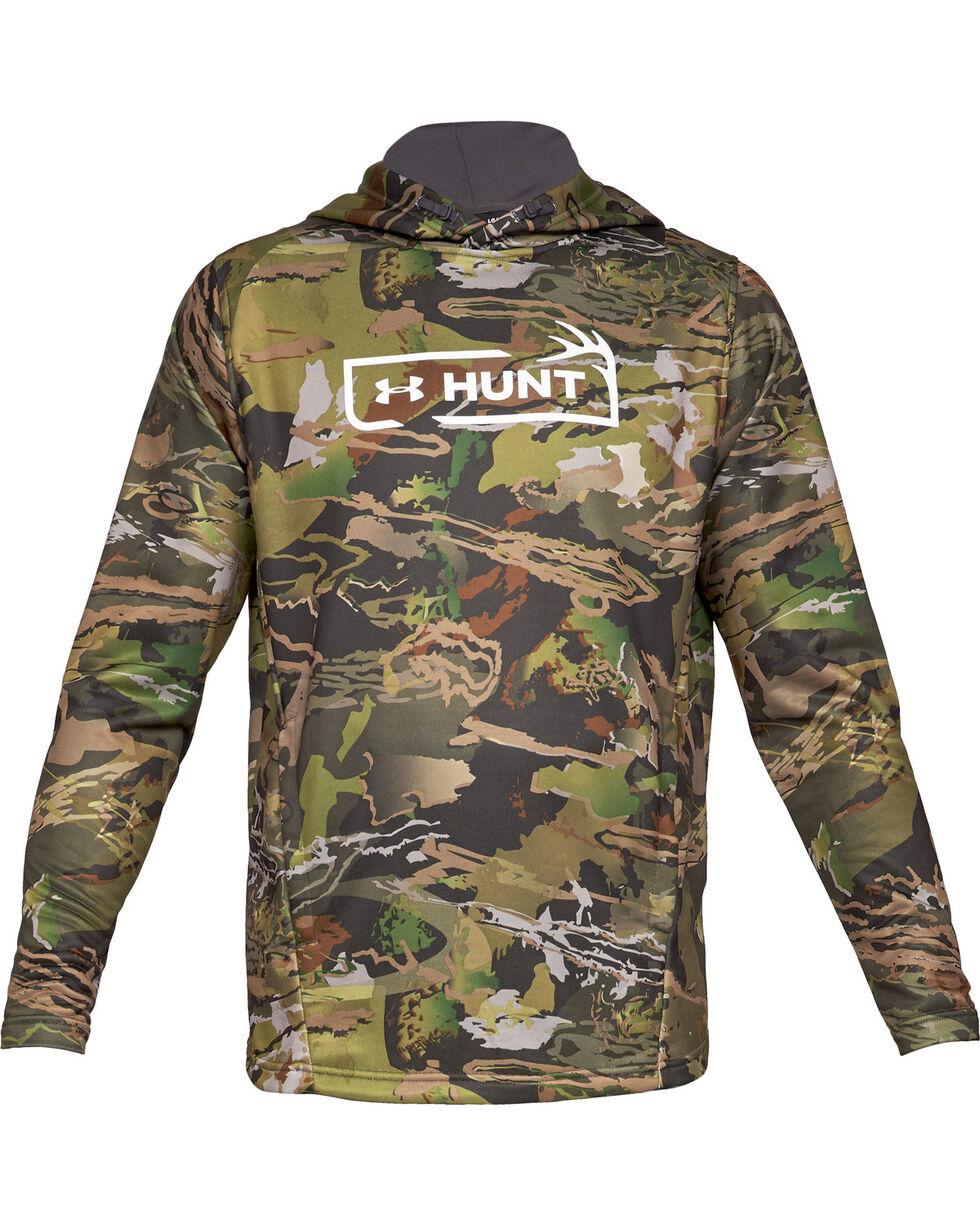 Under Armour Men's Camo Tech Terry Hoodie, Camouflage, hi-res