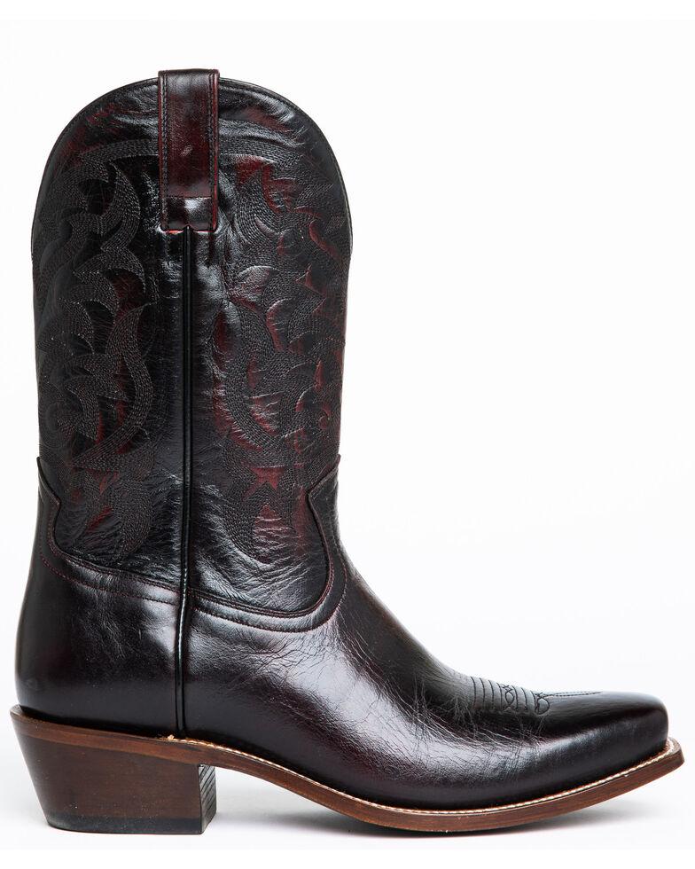 Moonshine Spirit Men's Pickup Western Boots - Narrow Square Toe, Black Cherry, hi-res