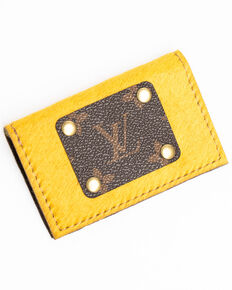 Keep It Gypsy Women's Mustard Credit Card Holder, Medium Yellow, hi-res