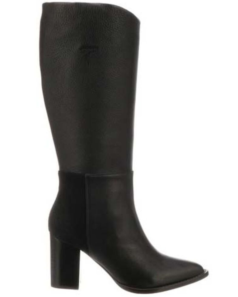 Lucchese Women's Dawn Western Boots - Round Toe, Black, hi-res