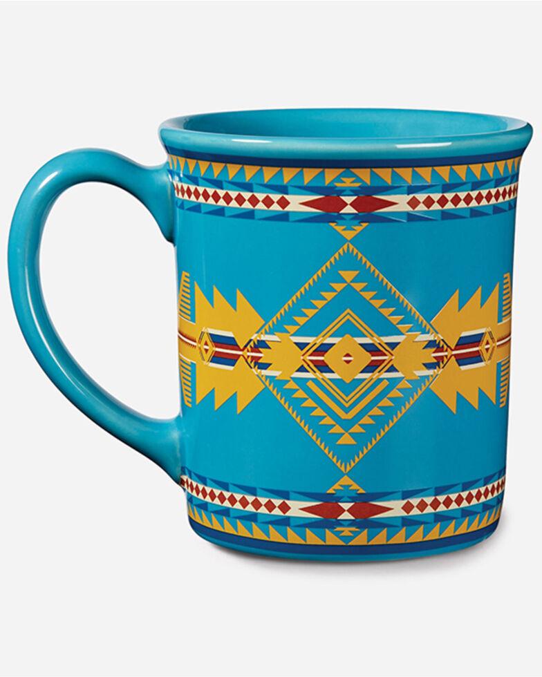 Pendleton Legendary Eagle Ceramic Mug  , Turquoise, hi-res