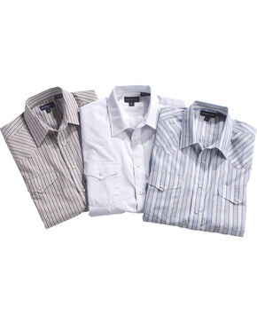Panhandle Men's Short Sleeve Assorted Western Shirt - Big & Tall, Multi, hi-res