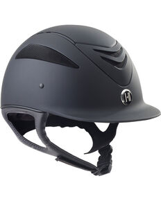 One K Defender JR Helmet , Black, hi-res