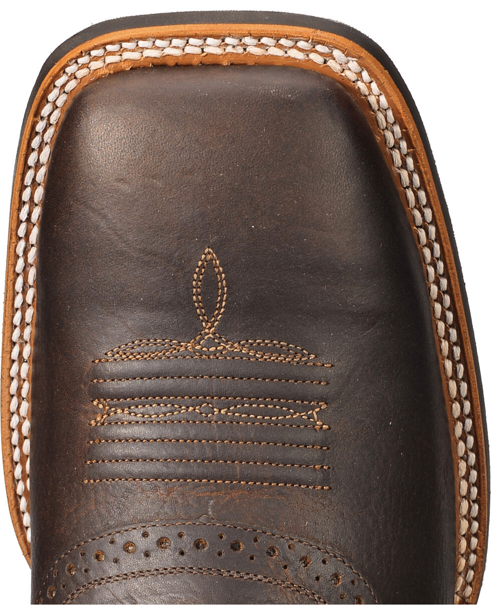 Cody James Xero Gravity Men's Gibson Saddle Vamp Western Boots - Square Toe, Brown, hi-res