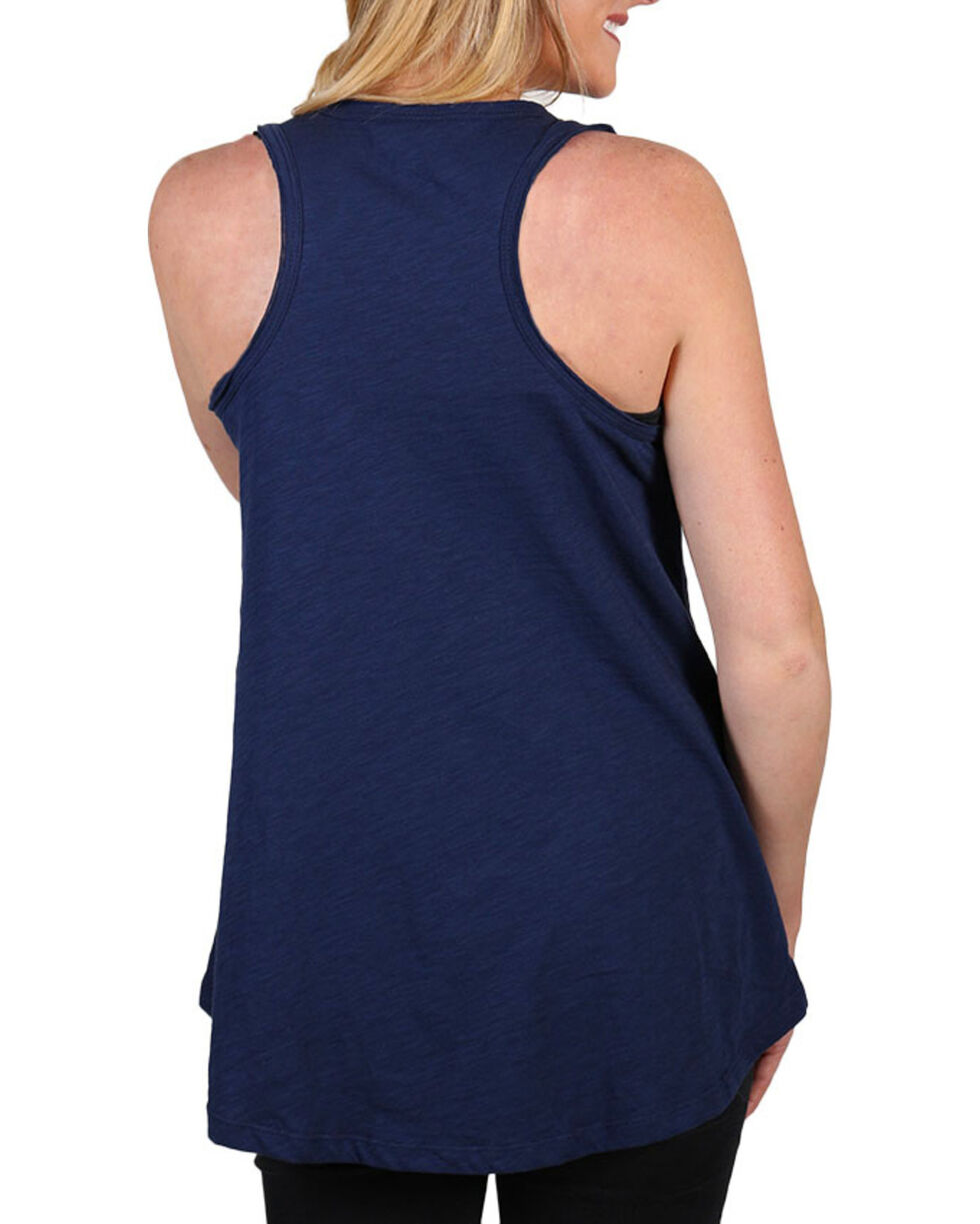 Shyanne® Women's Road Trip Tank Top , Navy, hi-res