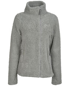 STS Ranchwear Women's Fireside Sherpa Jacket, Grey, hi-res